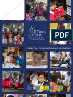 USAID / AusAid / WorldVision All Children Reading Challenge Grant 2012 Innovators Brochure (Final)