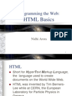 HTML by Nidhi