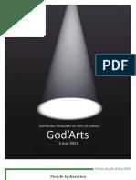 ProgrammeGod'Arts2012