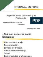 Aspectos Socio Laborales y de Produccion.