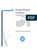The Purpose of the Team Contract is to Develop a Statement of the Team