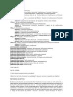 Ley Orgánica 52002 de 19 de junio de las Cualificaciones y de la Formación Profesional.