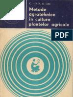127 C. Herea, G. Gin- Metode agrotehnice în cultura plantelor agricole [1980]