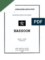 teaching bassoon