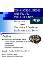 Artificial Intelligence (Neural Networks)