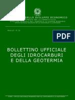 Bollettino Ufficiale Degli Idrocarburi