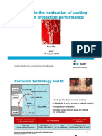 2012-01TU Delft - Advances in the Evaluation of Coating Corrosion Protection Performance