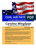 North Carolina Wing - Nov 2012