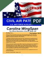 North Carolina Wing - Nov 2012