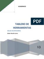 TABLERO DE HERRAMIENTAS DE MANTENIMIENTO DE CÓMPUTO