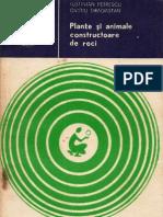 185 Iustinian Petrescu, Ovid Drăgăstan - Plante şi animale constructoare de roci [1982]