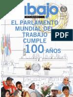 El parlamento mundial del trabajo cumple 100 años