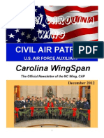 North Carolina Wing - Dec 2012
