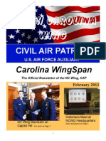 North Carolina Wing - Feb 2013