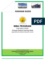 E-MBA Student Program Guide