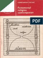 309 Constantin Cuciuc - Fenomenul religios contemporan [1989]