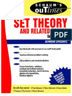 Schaum's Outline - Set Theory