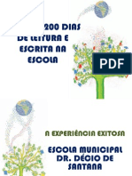 PROJETO DE LEITURA - DR DÉCIO