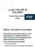 Renal Failure in Children