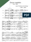 Arriaga - Cuarteto de Cuerda 3