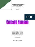 Andrines Cuidados Humanos Antropologia