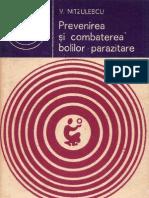 000 V. Nitzulescu - Prevenirea şi combaterea bolilor parazitare [1981]