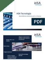 Presentaciòn comercial HSA industria
