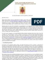 MENSAJE DE BENEDICTO XVI A LOS JÓVENES