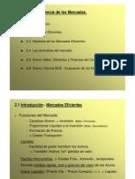 Tema 2 - La Eficiencia Del Mercado UCA-M.a.F. - 5o LADE