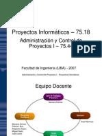 01 Introduccion a La Administracion de Proyectos v7