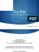 Diffusion of the iPad_Lewis Chappelear Module 4 Submission