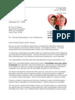 Letter to Rex & Barack 13-04-28