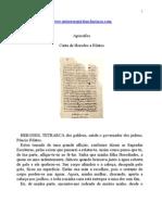 Apócrifos - Carta de Herodes a Pilatos