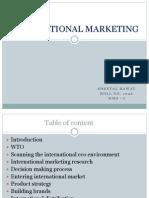 International Marketing New Ppt
