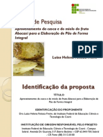 Casca e Miolo do Abacaxi . Elaboração de Pão de Forma Integral - Projeto Pesquisa CNPq.pdf