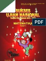Sukses Un Mtk 1 Th 2012-2013