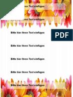 Ordneretiketten A4 192x38mm Motiv Blumen