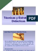 Estrategias y Técnicas didácticas