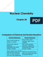 2 Ch 28 Nuclear Chemistry (Def Radioactivity)