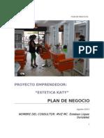 Formato de Plan de Negocios[Catalina Alvarez ]