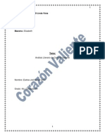 Analisis de Corazon Valiente (Esdras)