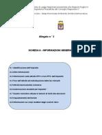 Allegato n°3 alla proposta di  Legge Regionale del 31 Marzo 2009