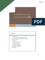 La Certificacion CITI (1)