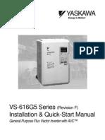 Variador de frecuencia Yask.616G5