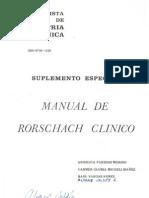 94840690 Manual de Rorschach Clinico