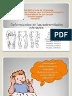 Diapo de Pediatria Ortopedia Genu Valgo