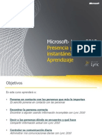 Microsoft Lync 2010 IM and Presence Training_ZD102815135.pptx