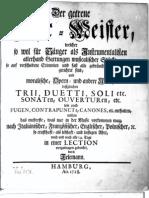 D-Telemann Der getreue Music=Meister