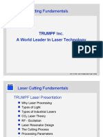 Como se genera un rayo laser