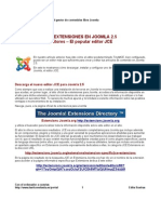 35 Trabajando Con Editores en Joomla 25 - JCE